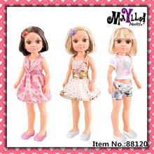 18 inch Maylladress up summer doll American girl doll wig doll