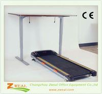 two desk & motorized adjustable height table legs