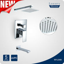 New Wall Mounted cupc ab1953 single lever mixer faucet shower