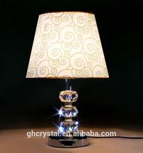 High Quality Modern Home Goods K9 Crystal Table Lamp