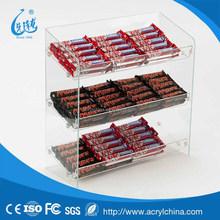 clear acrylic Confectionary Display box,plexiglass food storage cases
