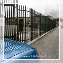 """72\"""" height wrought iron fence"""