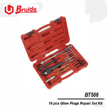 auto body repair tools of 16 pcs Glow Plugs Repair Set Kit (BT508)