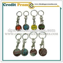 2012 New Key Chain with car logo for promotion