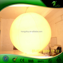 Superbright Inflatable Solar Led Light Balloon/ High Qualtiy Inflatable Lighting Balloon for Event