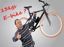 12.2 kg smart E-bike looking for exclusive dealers at Eurobike FGO-401