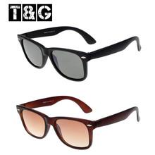 wholesale a basso prezzo telaio in plastica nerd Geek uomini donne occhiali da sole occhiali
