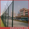 ISO9001 Powder Painting Steel Residential Fence