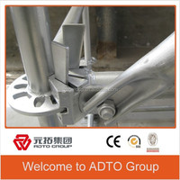Movable HDG Steel Ringlock Scaffold Construction Company