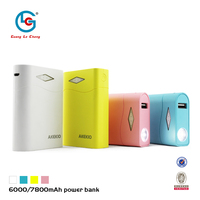 2015 multi-function portable laptop charger 6000/7800mah power bank tester test voltage current capacity for blackberry