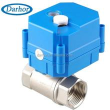 hot water tank AC DC9-24V motorised ball valve