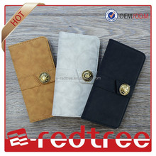 2015 cellphone cover flip stand pouch for iphone6 leather case