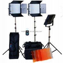 Hot sales ! LED video light kit with wireless remote for photographic equipment 40W 4500LM 5500K