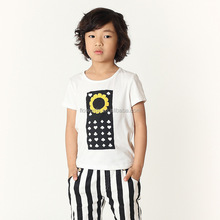 2015 hot sale children boys tee shirt from china factory