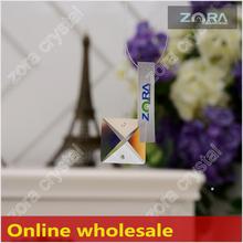 N401 envío la muestra verdadera de China mayorista plaza Crystal prismas para sale-20mm Crystal Drops N401