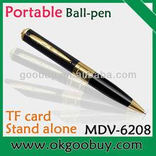 low factory price very very small hidden camera, hidden video digital TF card pen camera wifi
