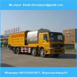 6*4 8.1 M3 Bitumen Tanker Synchronous Chip Sealer,Synchronous Chip Spreader