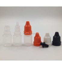 2.5ml black plastic bottles 2.5ml soft bottle plastic hinged top vials