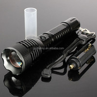 Super Bright 2200Lm CREE XML T6 Zoomable LED Flashlight Waterproof Rechargeable Light Torch + 1x18650 Battery