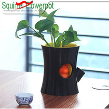 High qualtiy vip door gift- - Mini Squirrel Flowerpot