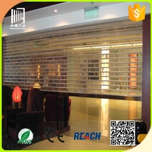 2015 new used commercial polycarbonate doors/transparent polycarbonate rolling shutter