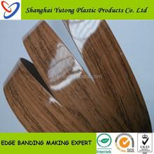 Yutong flexible plastic edge banding strips