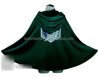 New Attack on Titan Shingeki No Kyojin Cloak Cape Cosplay Costumes
