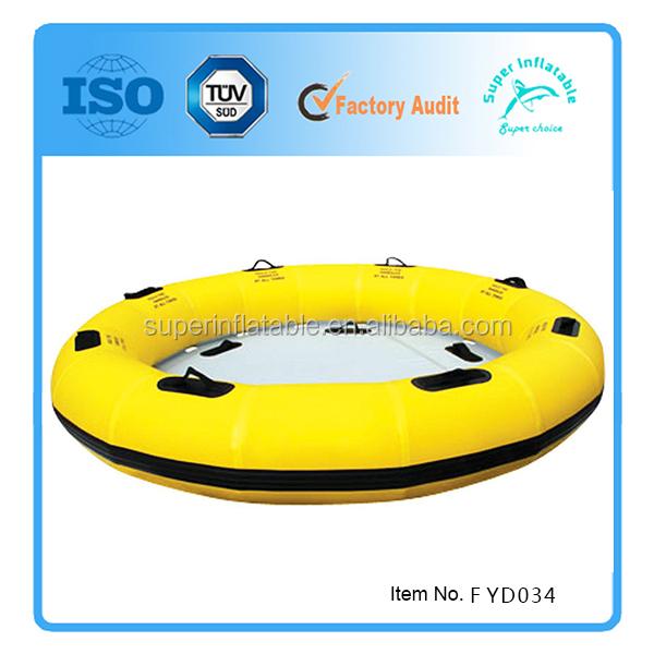 Резиновая круглая лодка