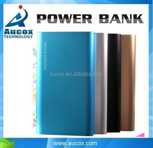 mobile phone portable USB power bank external backup battery charger plastic battery case