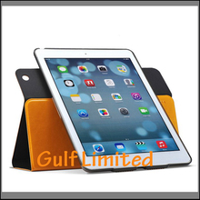 360 rolling Unbreakable leather case cover for Ipad Air