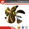 marine bronze boat underwater marine fixed pitch propeller