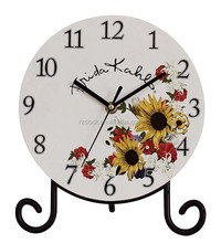 promotional table clock for wedding decoration