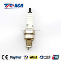 auto parts making machine 4 stroke engine parts motorcycle engine assembly A7TC spark plug