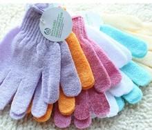 Bath Brushes Sponge Scrubbers nylon exfoliating bath glove
