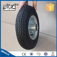 alibaba express high quality rubber wheel 3.50-8 swivel wheel trailer