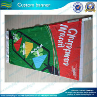 PVC vinyl advertising polyester banners wholesale