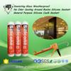 Insulating Glass Weatherproof No Odor Sealing Around Basins Silicone Sealant General Purpose Silicone Caulk Sealant