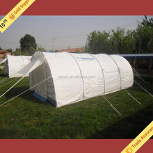 UN Tunnel Relief Tent, Light Weight Emergency Tent, disaster refugee tent for sale