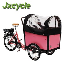 CE electric pedal cargo bike tricycle for sale
