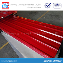 Building material metal roof tiles price for prefab house