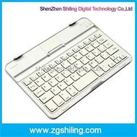 Aluminum Keyboard For iPad Mini 1 2 3 Lithium Battery Portable Wireless Bluetooth Keyboard