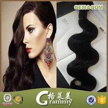 Hot sell 2015 new products aliexpress glow in the dark hair extension wholesaler india hair