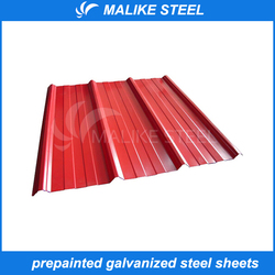 hot sale prepainted metal roofing
