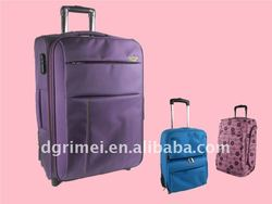 Carry-on 1680D Polyester Built-in Trolley Luggage