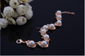 ingrosso 2015 moda popolare catena braccialetto di perle per le donne