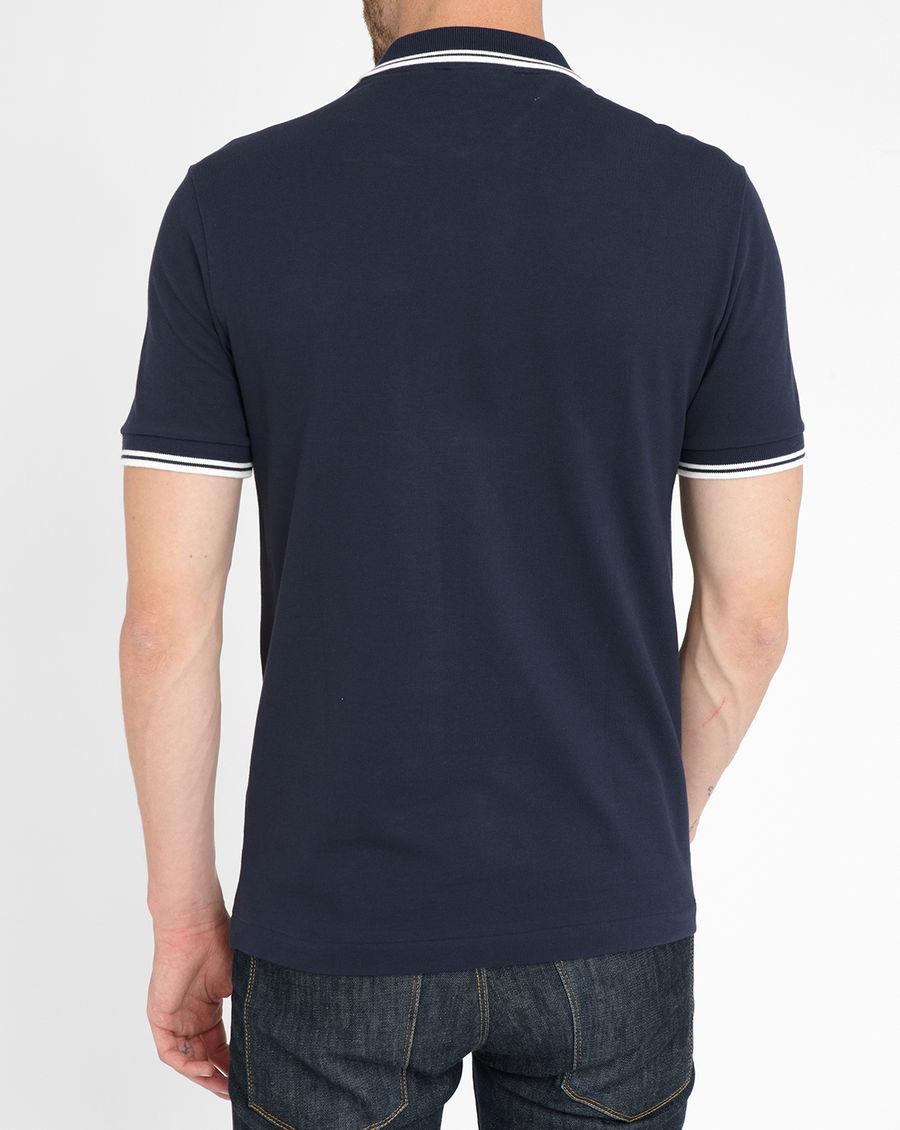 Custom Different Color Collar Golf Polo Shirt For Man