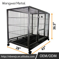 Fashionable design best quality folding dog cage