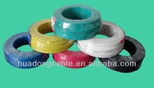 Low voltage Copper or Aluminum conductor PVC Electric Wire