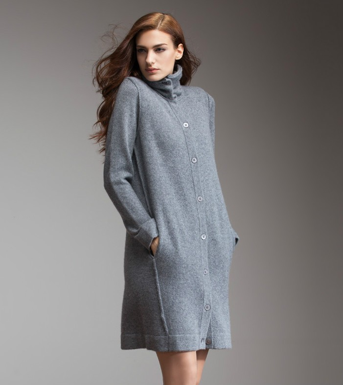 Knitting Pattern For Long Sweater Coat : Knitting Pattern Women Winter Long Cashmere Sweater Coats - Buy Sweater Coats...