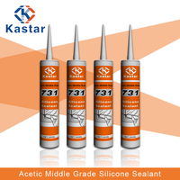 Assessed Supplier middle grade acidity silicone sealant for back lights